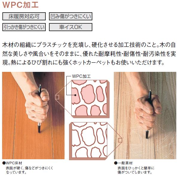 WPC加工