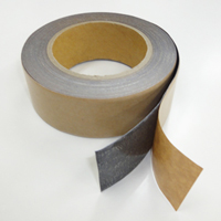 デッドニングテープ 剥離紙を剥がすと粘着面になります